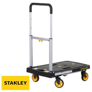 STANLEY 史丹利 四輪折疊平板手推車 承重120公斤 型號SXWTD-PC517