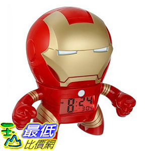 [美國直購] Bulb Botz BulbBotz 人偶鬧鐘 鋼鐵人 Marvel 2020046 Iron Man Alarm Clock