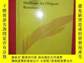 二手書博民逛書店Malbone罕見an Oldport Romance (16開