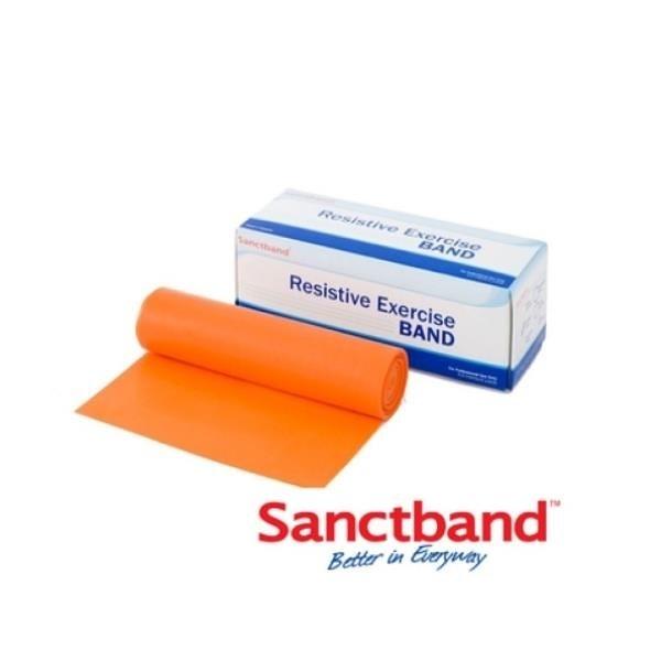 【南紡購物中心】【Sanctband】拉力帶-橘(5米-輕型)