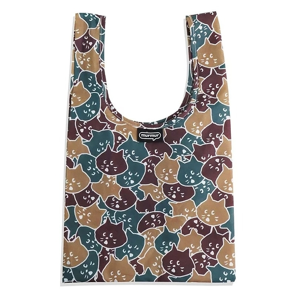 ﹝三代﹞murmur NYA迷彩 便當袋 購物袋 手提袋 隨身購物袋 小購物袋 飲料袋