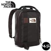 【The North Face 14.5L 背提包《黑》】3KYY/休閒背包/多功能後背包/電腦背包/洽公/登山