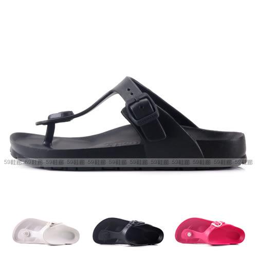 AIRWALK 正版授權 超輕量防水EVA雙扣 休閒夾腳人字拖鞋 防水拖鞋 59鞋廊