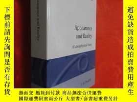 二手書博民逛書店Appearance罕見and Reality (大32開,硬精裝 ) 【詳見圖】Y5460 F H Brad