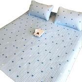 夏季天絲空調軟席冰絲軟涼席三件套夏涼席子軟床墊1.5米1.8m床