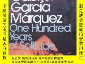 二手書博民逛書店Gabriel罕見Garcia Morquez One Hundred Years of solitude 百年孤