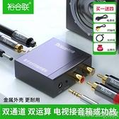 光纖同軸音頻轉換器數字轉模擬電視接音響SPDIF轉3.5小米海信長虹音響解碼器 1995生活雜貨