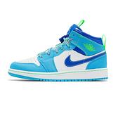 Nike Air Jordan 1 Mid GS 大童 藍綠 雪碧 經典 運動 休閒鞋 DA8010-400