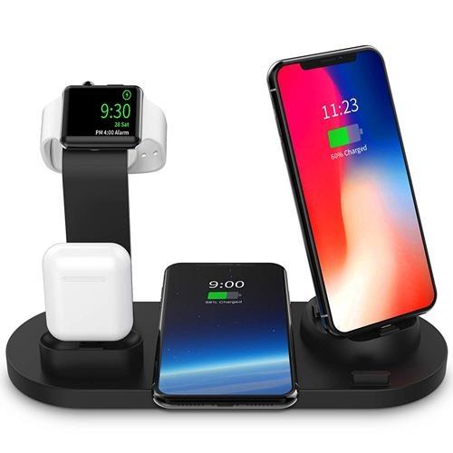 【美國代購】SODYSNAY無線充電器 用於Apple Watch和Airpods的3合1無線充電底座