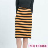 RED HOUSE-蕾赫斯-條紋合身裙 (共2色)