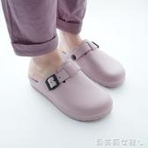 新品包頭拖鞋男防滑風日式涼鞋軟懶人手術室洞洞鞋防水【秒殺】