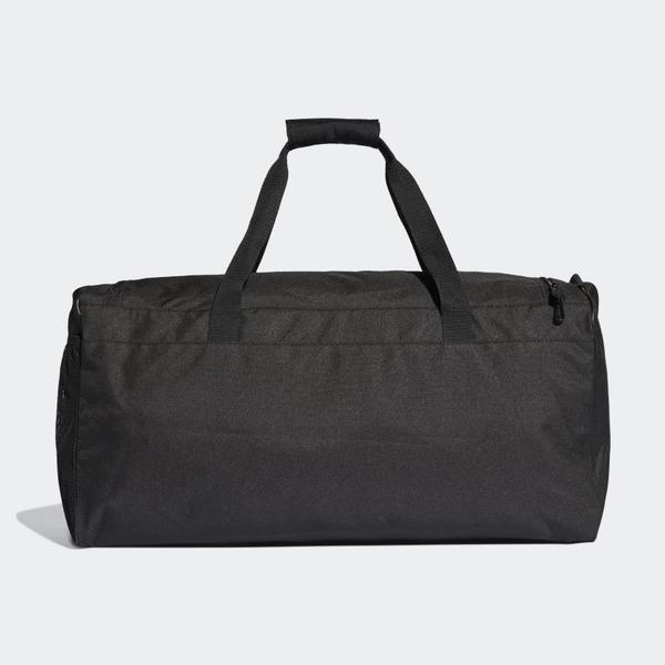 【現貨】ADIDAS LINEAR CORE DUFFEL (M) 旅行袋 手提袋 健身 黑 【運動世界】DT4819