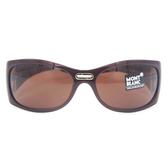 MONTBLANC 萬寶龍眼鏡 MB89S 589 (棕) 運動太陽眼鏡 久必大眼鏡