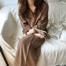 爆款熱銷外套女春裝韓版設計感小眾雪紡睡衣...