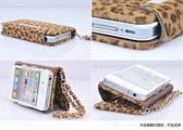現貨免運 iphone 4 4s 豹紋信用卡式 手機套