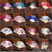 女式古典竹扇日本和風復古風折扇迷你