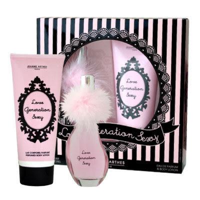 Jeanne Arthes Love Generateion Sesey 戀愛假期香氛禮盒 32537 (60ml香水+200ml身體乳)《Belle倍莉小舖》