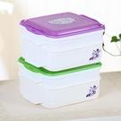 學生飯盒便當盒微波爐分格餐盒上班族快餐盒保溫便攜大容量分隔 【端午節特惠】