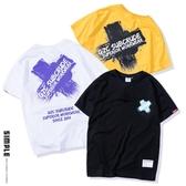 新款短袖T恤男 潮流寬松T恤衫 ☸mousika