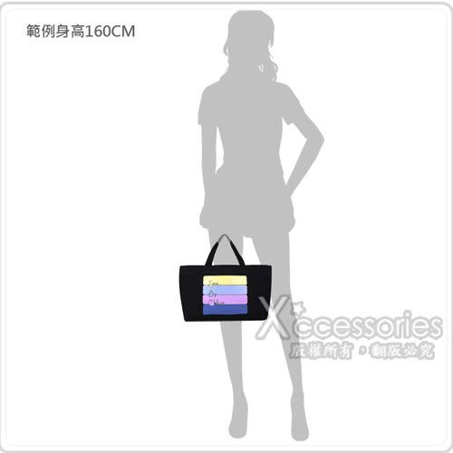 See By Chloe 經典造型淡系色彩草寫LOGO帆布束口手提袋(黑)