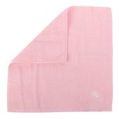 BURBERRY素面100%棉質方巾(粉紅色)081008-3