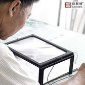 拜斯特臺式放大鏡led帶燈高清閱讀