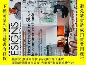 二手書博民逛書店GR罕見AND DESIGNS The offcial magazine of the hit TV series