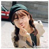 眼鏡 韓國ulzzang文藝半金邊框眼鏡女眼鏡圓形透明復古男框架 Cocoa