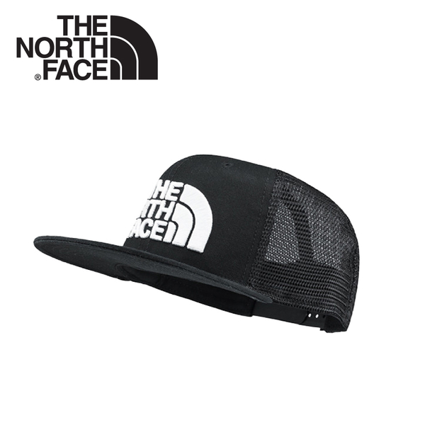 【The North Face MESSAGE MESH運動棒球帽《黑》】2Y15/鴨舌帽/休閒帽