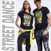 個性印花短袖T恤TA665(商品不含內搭/配件)-百貨專櫃品牌 TOUCH AERO 瑜珈服有氧服韻律服