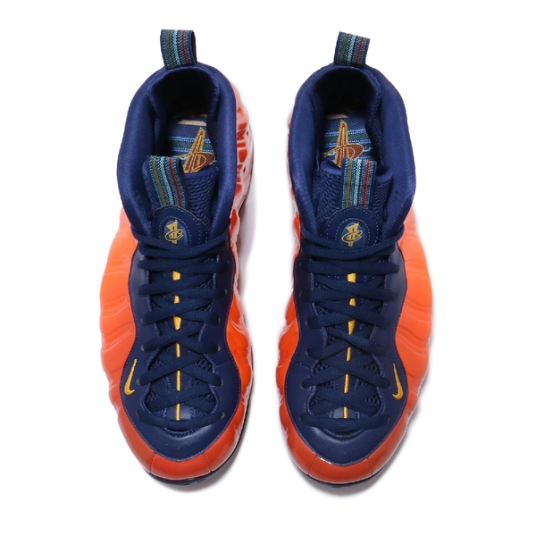 Nike 太空鞋 Air Foamposite One 橘 深藍 男鞋 復古 一分錢 籃球鞋 【ACS】 CJ0303-400
