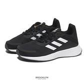 ADIDAS 童鞋 DURAMO SL K 黑白 慢跑鞋 中童 (布魯克林) GV9821