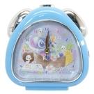 【震撼精品百貨】Stitch_星際寶貝史迪奇~日本迪士尼 史蒂奇連續秒針/三角形鬧鐘/指針鬧鐘#14132
