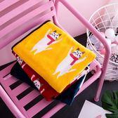 夏季可愛空調毯珊瑚午睡小毯子單人辦公室蓋腿學生毛毯薄毛巾被【一條街】