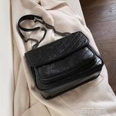 高級感包包洋氣女士包包2020新款潮韓版百搭質感斜挎包時尚單肩包 依凡卡時尚