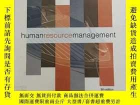二手書博民逛書店Human罕見Resource Management eight