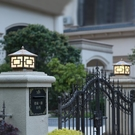 太陽能柱頭燈家用庭院燈