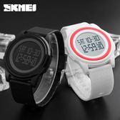 輕薄秒錶倒計時多功能電子錶 運動男女情侶學生夜光LED手錶 igo 玩趣3C