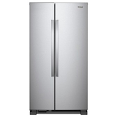 Whirlpool 惠而浦 WRS315SNHW 對開門冰箱 740L 純白