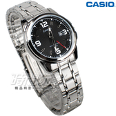 CASIO卡西歐 LTP-1314D-1A 經典簡約數字錶 女錶 不銹鋼 日期顯示窗 防水錶 黑色 LTP-1314D-1AVDF
