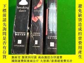 二手書博民逛書店暮光之城英文小說Breaking罕見drwn,Eclipse,T