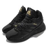 adidas 籃球鞋 D Rose 11 黑 金 男鞋 運動鞋 飆風玫瑰 【ACS】 FZ1544