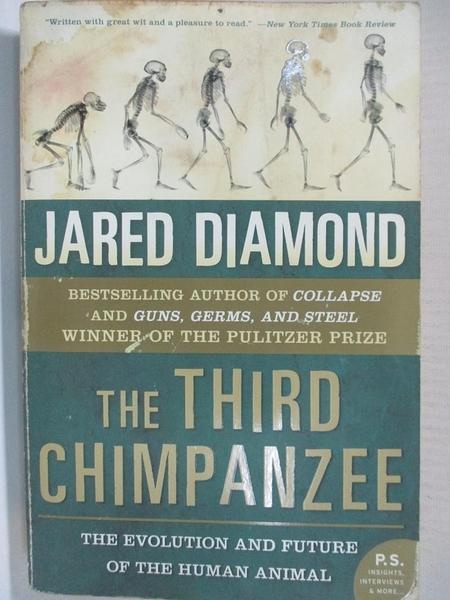 【書寶二手書T8/原文小說_HZF】The Third Chimpanzee: The Evolution And Future of the Human Animal_Diamond, Jared