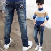 兒童男童牛仔褲單褲大童褲子10春款13男孩童裝15歲12 韓版 免運