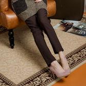 台灣製 口袋邊繡花長褲 獨具衣格