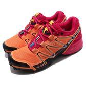 Salomon 戶外鞋 Speedcross Vario 橘 黑 運動鞋 越野 登山 休閒鞋 女鞋【PUMP306】 L37905400