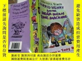 二手書博民逛書店horrid罕見henry and the mega mean time machine可怕的亨利和超級機器Y