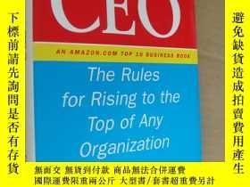 二手書博民逛書店How罕見to Become CEO:The Rules for