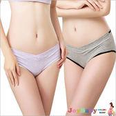 孕婦內褲纖維產婦U型低腰褲-JoyBaby