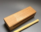 木魚 高低音梆子打擊樂器 戲曲梆子白木實木高音低音梆子紅木木魚角魚 星隕閣